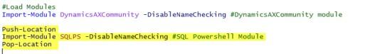 LoadSQLModule